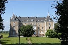 Nous partons maintenant au château de Clairvans, à Chamblay. Nous sommes dans le Jura, dans l'ancienne région ...