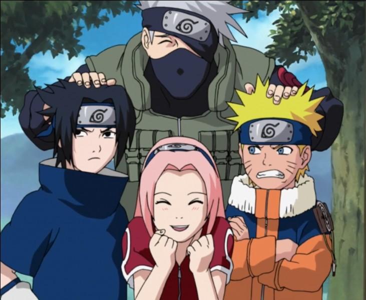 Quel est le numéro de la nouvelle équipe de Naruto ?