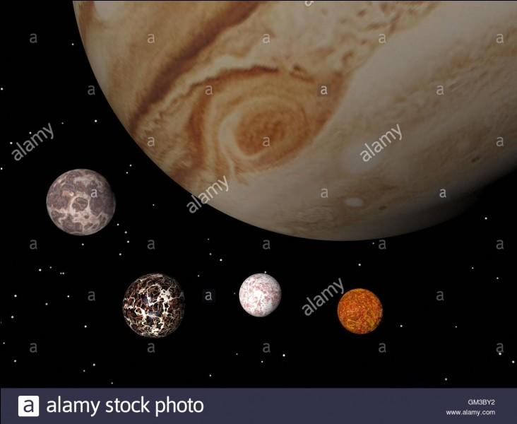 Comment a-t-on appelé Jupiter et ses satellites naturels ?