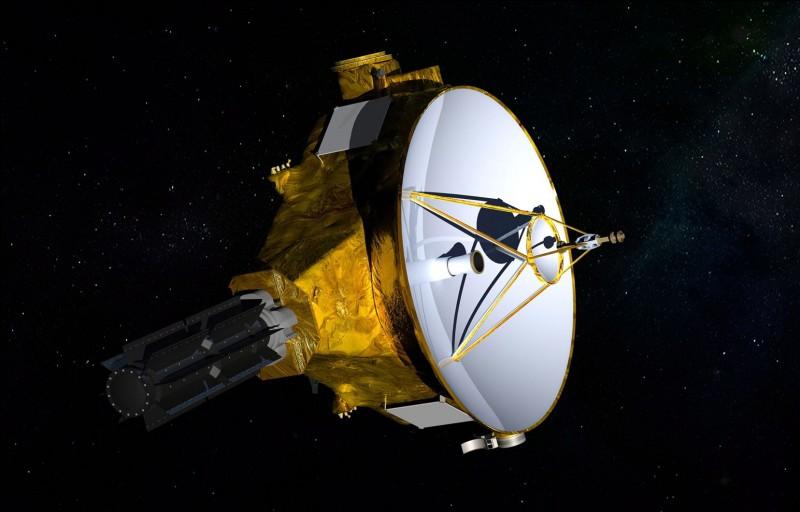 Comment s'appelle la sonde qui est allée pour visiter Jupiter et ses lunes, et combien a-t-elle pris de temps pour y arriver ?