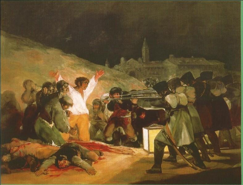 Quel est le titre de ce tableau de Goya, en français ?