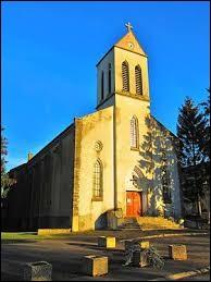 Nous sommes dans la Meuse devant l'église Sainte-Thérèse de Dommary-Baroncourt. Nous nous trouvons dans l'ancienne région ...