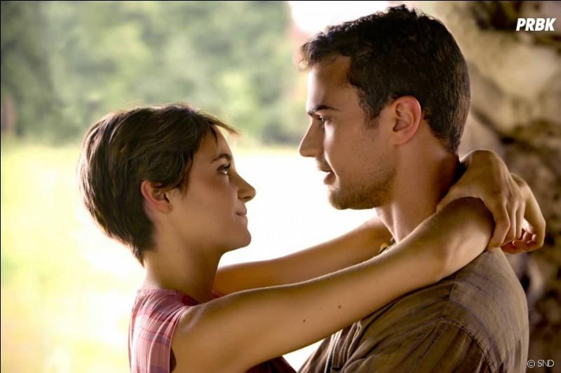 Où Tris a-t-elle dit pour la première fois qu'elle aimait Quatre ?