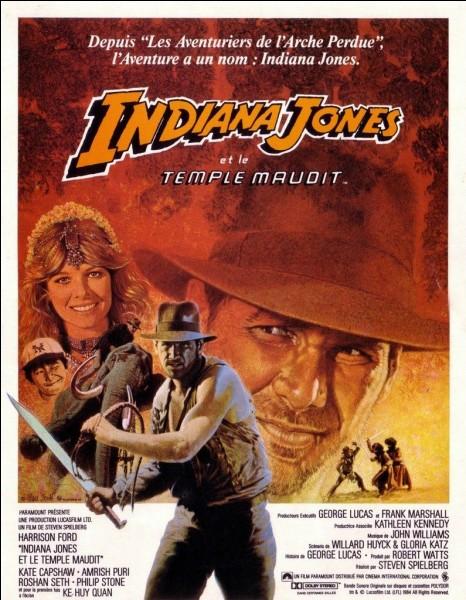 """""""Indiana Jones et le Temple maudit"""" est un film dans lequel joue Sean Connery."""