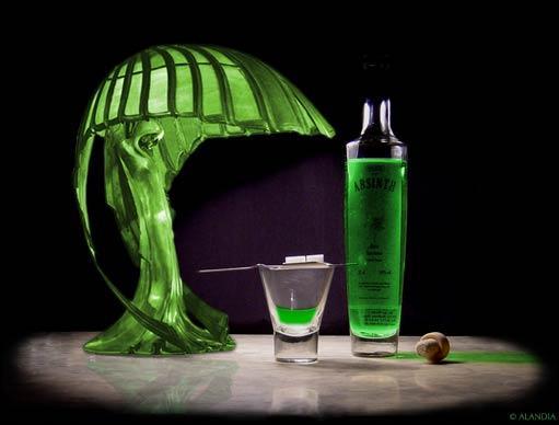 Et quel était le surnom de l'absinthe qui inspirait nombre de poètes du XIXe siècle ?