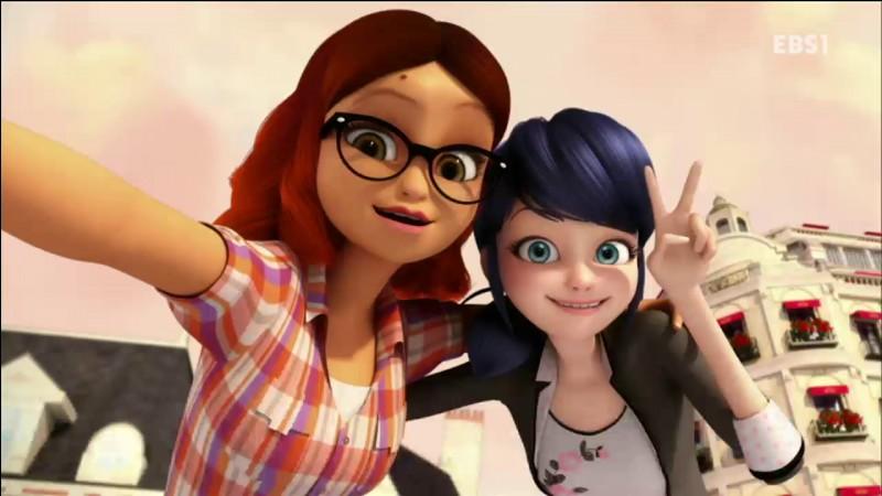 Qui et la meilleure amie de Marinette ?