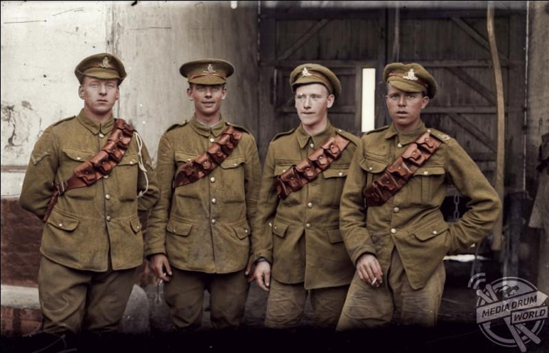 """Durant la Première Guerre mondiale, quels soldats étaient appelés """"Tommies"""" ?"""