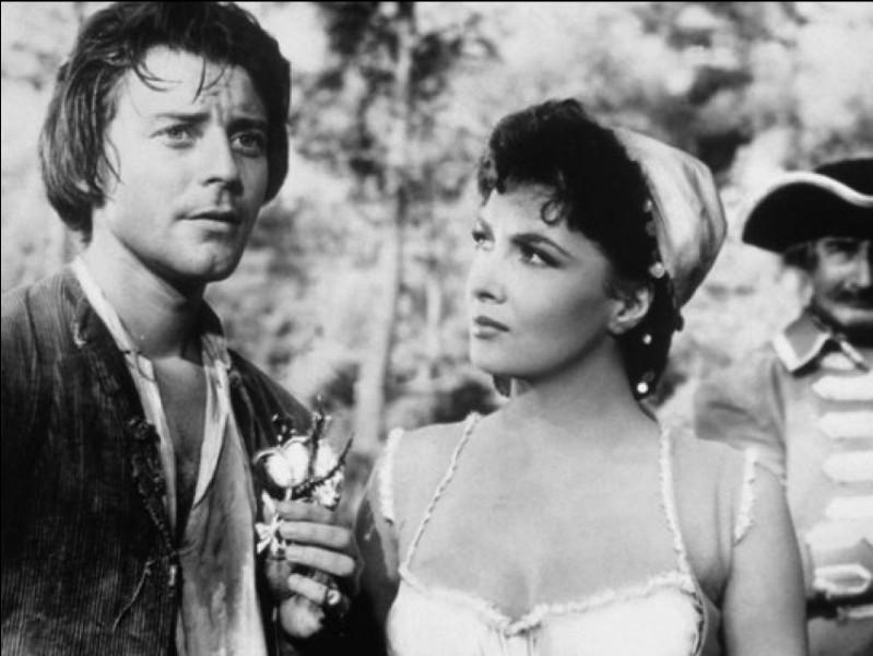 """Dans le film """"Fanfan la Tulipe"""", sorti en 1952, quelle actrice incarne Adeline La Franchise ?"""