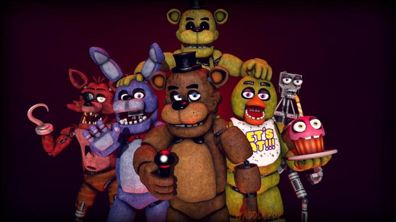 Quelles sont les mascottes présentes dans le jeu ?