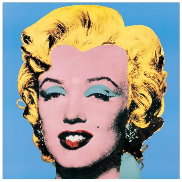 """Qui a peint """"Shot Marilyns"""" ?"""