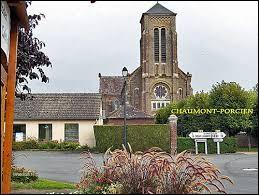Je vous emmène maintenant dans les Ardennes, à Chaumont-Porcien. Nous serons en région ...