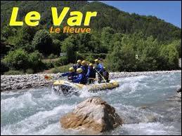 La rivière Var traverse le département du même nom.