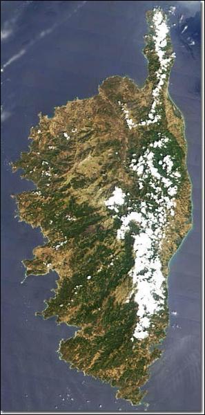 De combien de départements est composée la Corse ?