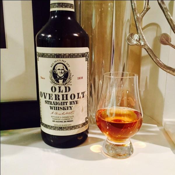 Old Overholt est une des marques les plus répandues de quel type d'alcool américain ?