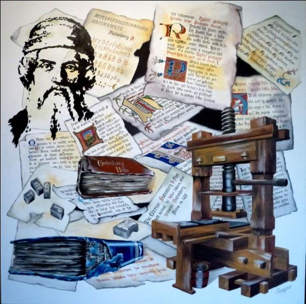 Avec les arts, des idées nouvelles gagnent aussi, surtout depuis que l'imprimerie rend possible une grande production de livres. Qu'est-ce qui se répand et sera la cause du prochain grand massacre ?