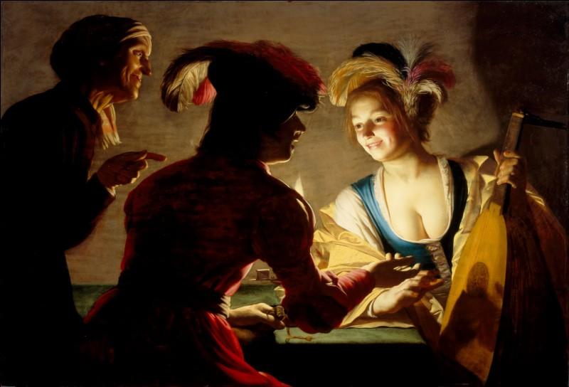 """Qui est l'auteur de ce tableau : """"La Marieuse"""" ?"""