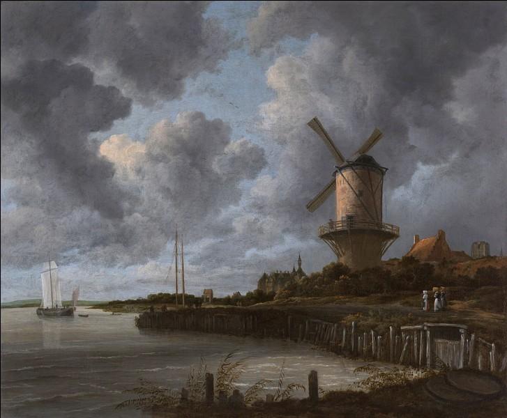 """Quel peintre paysagiste est l'auteur du """"Moulin de Wijk de Duurstede"""" ?"""