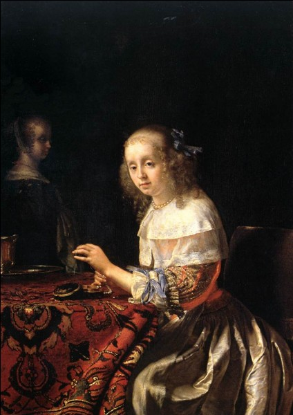 """Qui a peint """"L'Enfileuse de perles"""" ?"""