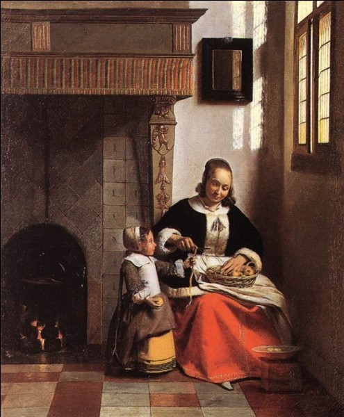 Peinture hollandaise XVIIe siècle