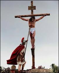 Qui est ce centurion perçant le flanc du sauveur crucifié avec sa lance ?