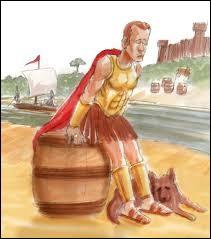 Centurion et son chien à l'origine de la renommée des eaux de ;