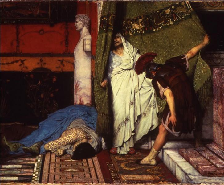 Une fois l'empereur Caligula massacré par sa garde, un centurion nomma immédiatement cet homme caché derrière un rideau comme son successeur. Qui est cet empereur ?
