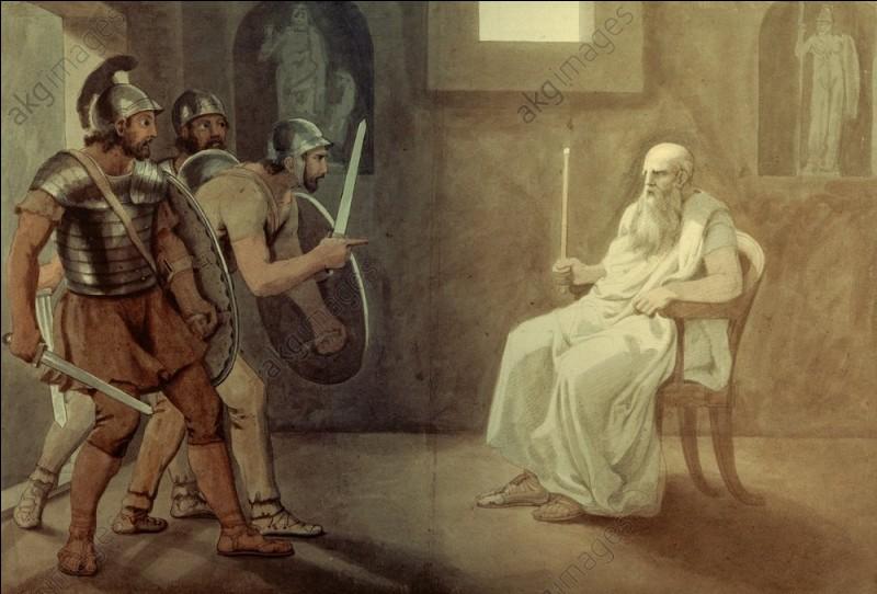 Centurion exécutant Cicéron. Qui est-il ?
