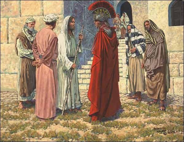 Centurion andalou de Malaga étant proche et présent lors de la crucifixion de Jésus ?