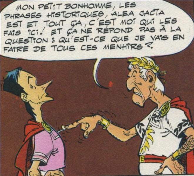 Combien d'années d'avance a Jules César par rapport à Astérix ?