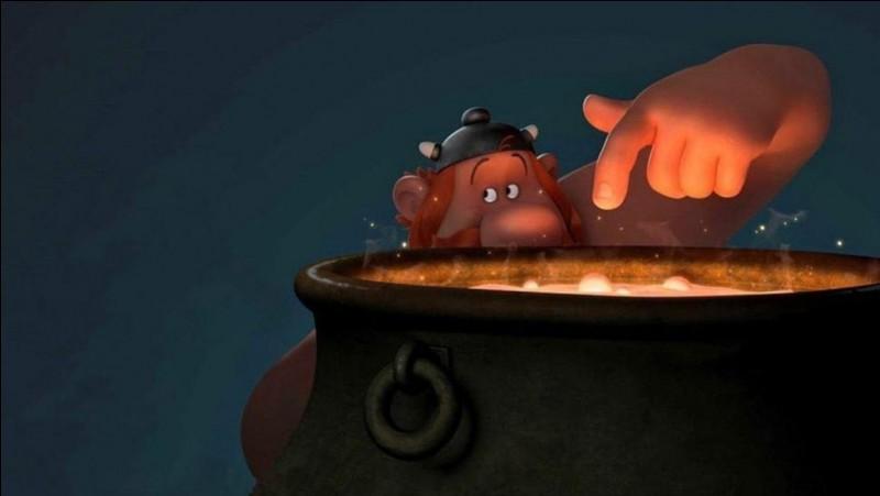 Comment Obélix est-il tombé dans la potion magique ?
