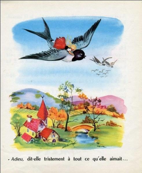 Dans quel conte du poète Hans Christian Andersen, une minuscule petite fille est confrontée à des obstacles très au-dessus de sa taille ?