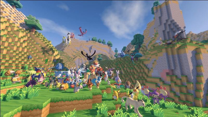 Il existe des Pokémon (dans un mod) pour Minecraft.