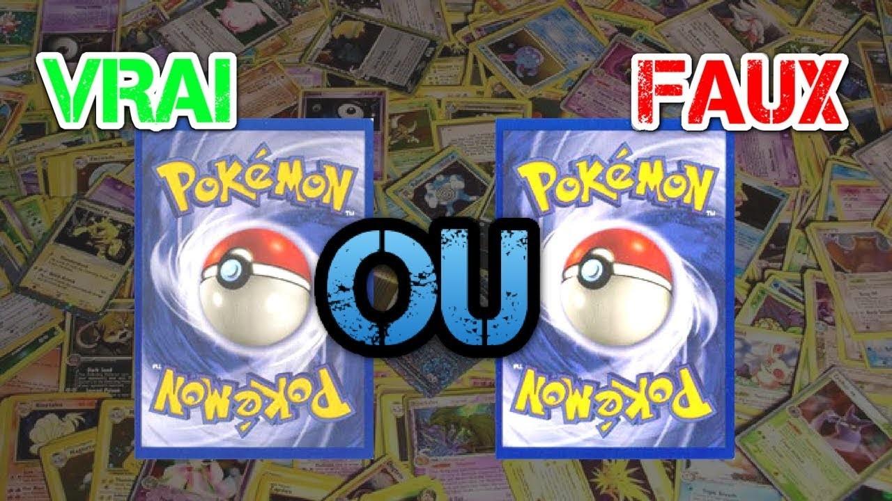 Pokémon : vrai ou faux ?