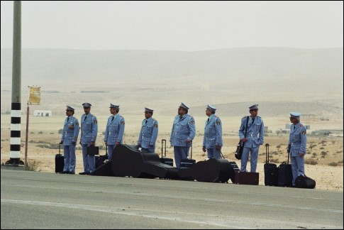 """""""La visite de la fanfare"""" est un film délicieux, qui met en présence les deux pays suivants, l'Egypte et Israël. La fanfare est... ?"""