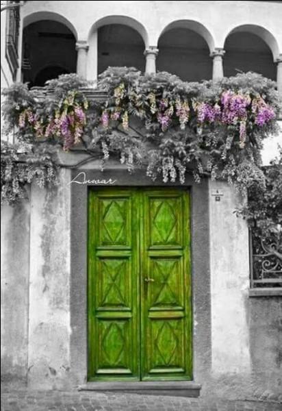 Quel titre de noblesse peut prendre un auvent au-dessus d'une porte ?