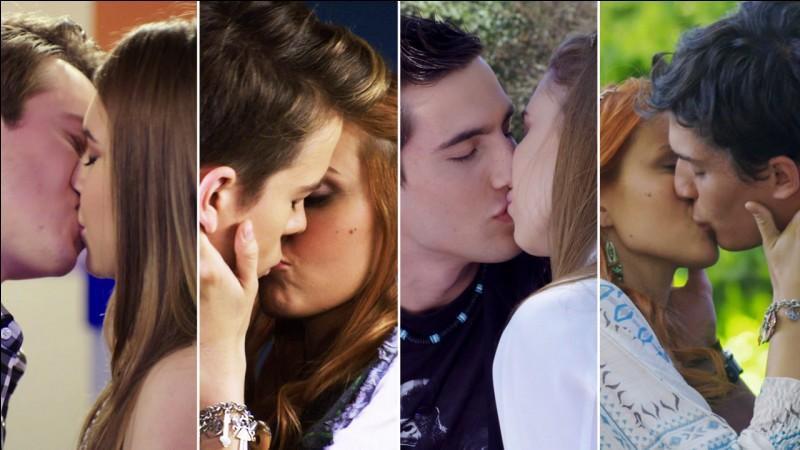 Quel couple ne s'est pas embrassé ?