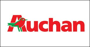 Quelle est la race de l'oiseau se trouvant sur le logo de la marque Auchan ?