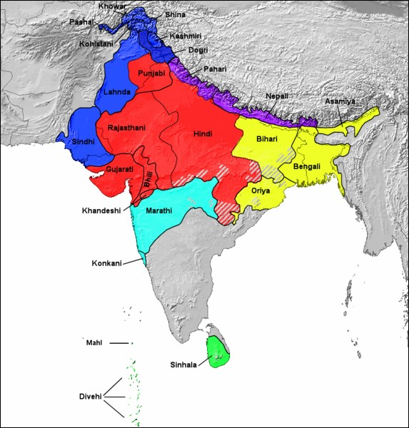 « মীআও » se prononce à peu près « mi'a'o » dans la langue indo-européenne la plus orientale au monde (avec l'assamais) ! Laquelle ?