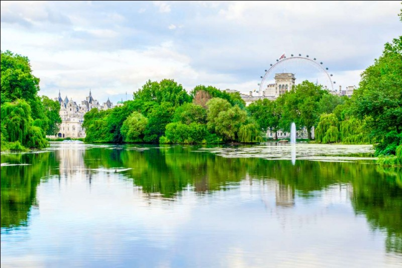 Ce magnifique parc est une oasis de calme au centre d'une des villes les plus animées au monde. Étendu sur 23 hectares, on y retrouve, comme vous voyez, un petit lac doté de deux îles avec des canards et des pélicans. Il a été aménagé avec l'aide d'André Le Nôtre.Nommez ce parc qui est l'un des plus fréquentés d'Europe avec 5,5 millions de visiteurs annuellement :
