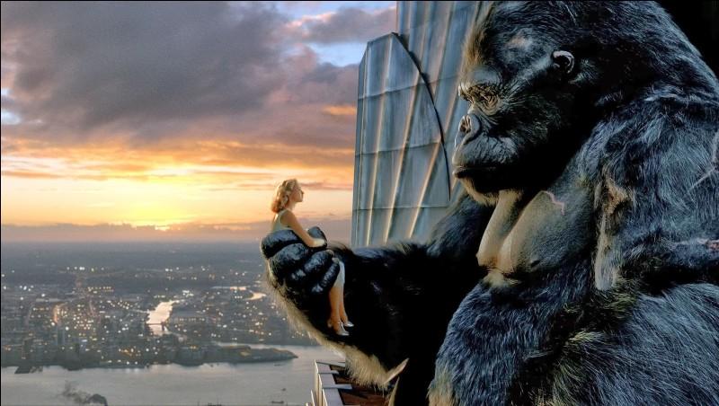 """""""King Kong"""" est un nouvelle version du film originel de 1933 dans laquelle joue Uma Thurman."""