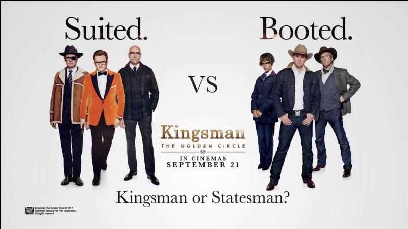 """""""Kingsman : Le Cercle d'or"""" est un film dans lequel a joué Colin Firth."""