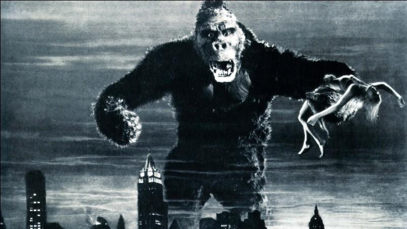 """""""King-Kong"""" est un long-métrage dans lequel joue l'actrice Fay Wray."""