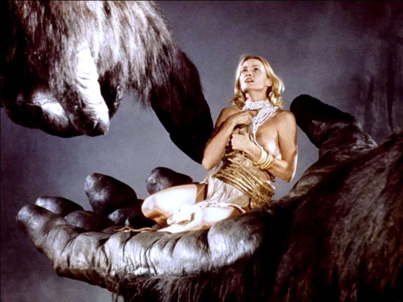 """""""King-Kong"""" est un remake joué par Jessica Lange."""