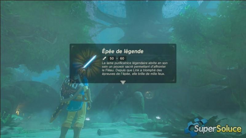 Où se trouve l'épée de légende ?