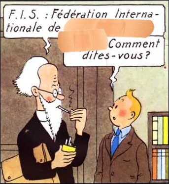 Cornaqué par le Professeur Halambique, Tintin est convié à un congrès de sissi... sibili... Bon, c'est bien alambiqué, tout cela ! Et vous, vous y voyez plus clair ?