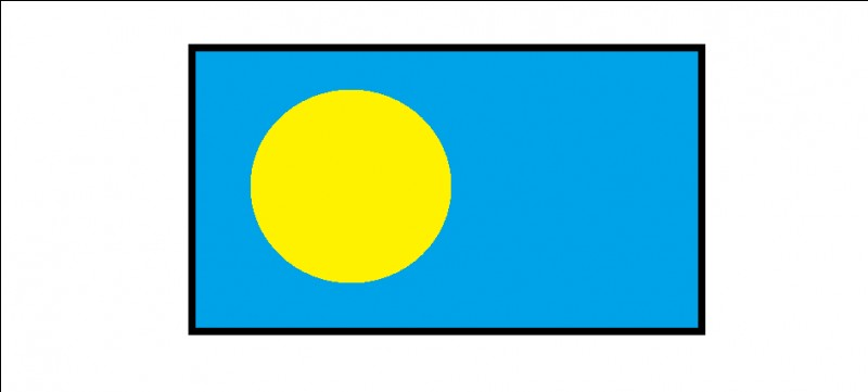 Commençons avec un drapeau compliqué. Quel est-il ?