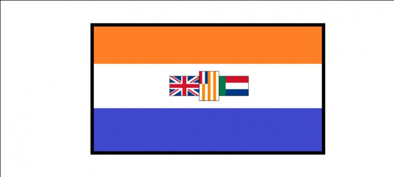 Ce drapeau fut l'ancêtre de quel pays ?