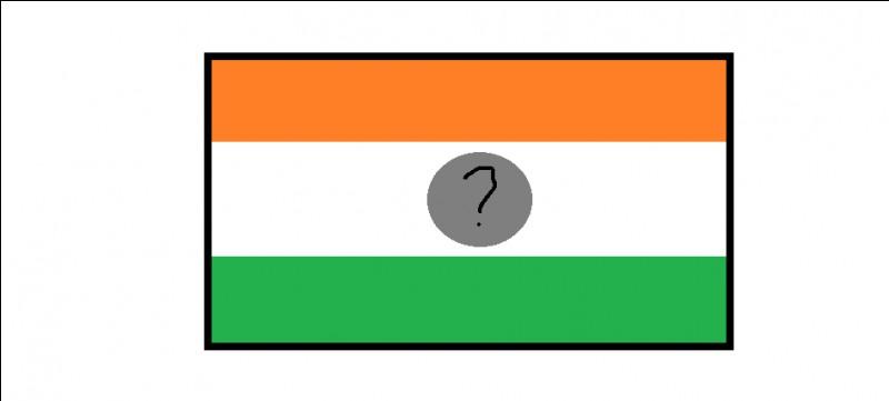 Sur le drapeau du Niger, les bandes sont de couleurs orange, blanche et verte avec un cercle de couleur…