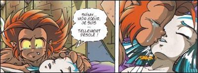 Gryf est sous le charme de Shamira, mais qui aime-t-il vraiment ?