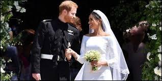 Avec qui le prince Harry s'est-il marié le 19 mai ?